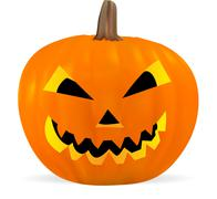 Jack o'lantern Stock Illustration