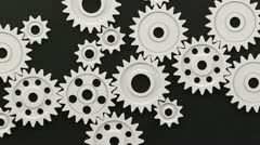 Plastic Loop Gear - stock footage