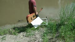 Songwriting Inspiration by River Stock Footage