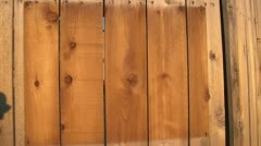 Stained-wood-advertising-template Stock Footage