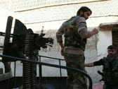 Free Syrian Army Fighters Stock Footage