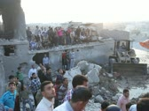 Aleppo Bombing Aftermath  Stock Footage