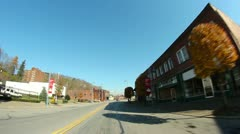 Downtown Aliquippa, Pennsylvania Stock Footage