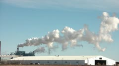 Timelapse-of-pollution Stock Footage