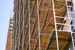 Stock Photo of scaffolding