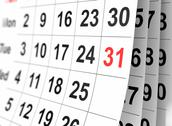 Stock Illustration of calendar