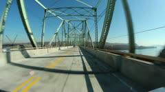 Ambridge Bridge Stock Footage