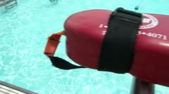 View From Lifeguard Seat Stock Footage