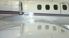 Wing Shot from Jet Plane Stock Footage