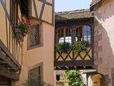 Stock Photo of architectural detail in alsace