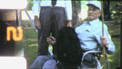 Pet Dog Circa 1960 (Vintage Old Film Home Movie Footage) 5983 Stock Footage
