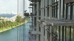 Miami Construction Work Development Stock Footage