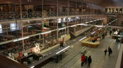 V & A  toys museum in London Stock Footage