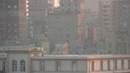 Egypt, Port Alexandria skyline, dolly Stock Footage