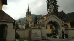 First Romanian School 0005 - stock footage