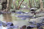 Streams, waterfalls, thailand Stock Photos