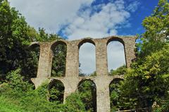 Stock Photo of monterano arches 2