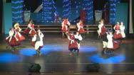 Traditional Dances, Children Dancing Stock Footage