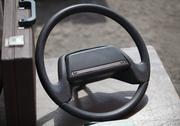 Old steering wheel Stock Photos