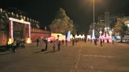 Thai pai gate Stock Footage