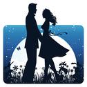 Love couple Stock Illustration