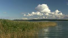 Beautiful Water Landscape on Darss Peninsula - Baltic Sea, Northern Germany Stock Footage