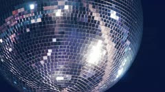 Disco mirror ball Stock Footage