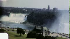 NIAGARA FALLS Ontario Natural Wonder 1950s (Vintage Retro Film Home Movie) 6033 Stock Footage