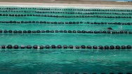 Male Athletic breast stroke swimming competition Stock Footage