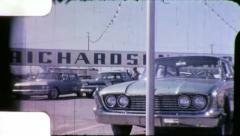 RUST BUCKETS FOR SALE Used Cars on Lot 1960s Vintage Retro Home Movie Film 6037 Stock Footage