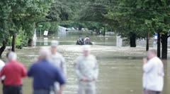 Flood in Northeast Stock Footage