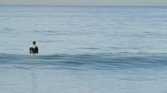 Surfing Oceanside, CA Stock Footage