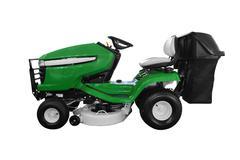 green lawn mower.jpg - stock photo