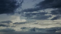 Dark clouds Stock Footage