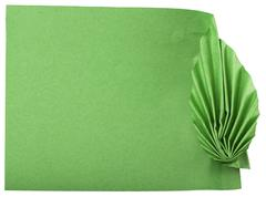 Green leaves made ??of paper Stock Photos