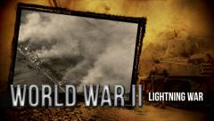 Blitzkrieg (Lightning War) | Title Opener | World War 2 Stock Footage