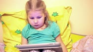 Stock Video Footage of Kid with tablet computer