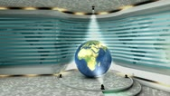 Virtual set/studio. tv, online, internet, background Stock Footage