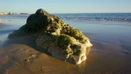 Beach Rocks 2 Stock Footage