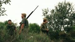 Hunters Stock Footage