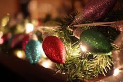 Stock Photo of Christmas Lights