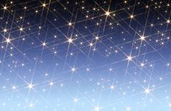 Starry sky background Stock Photos