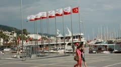 Marmaris, Turkey, Eleven - stock footage