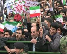Iran 50. Tehran, Meydan Azadi Stock Footage