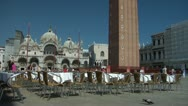 Stock Video Footage of Piazza San Marco