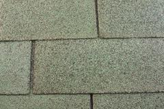 Green roofing shingles Stock Photos