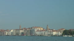 Venice Pan to Piazza San Marco Stock Footage