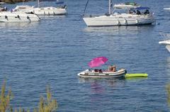 red island (croatia) - stock photo
