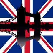 Tower bridge london Stock Illustration