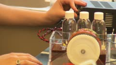 Massachusetts Institute of Technology Students Laboratory Stock Footage